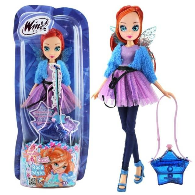 Winx Club Magic Style Bloom Figurine with Accessories