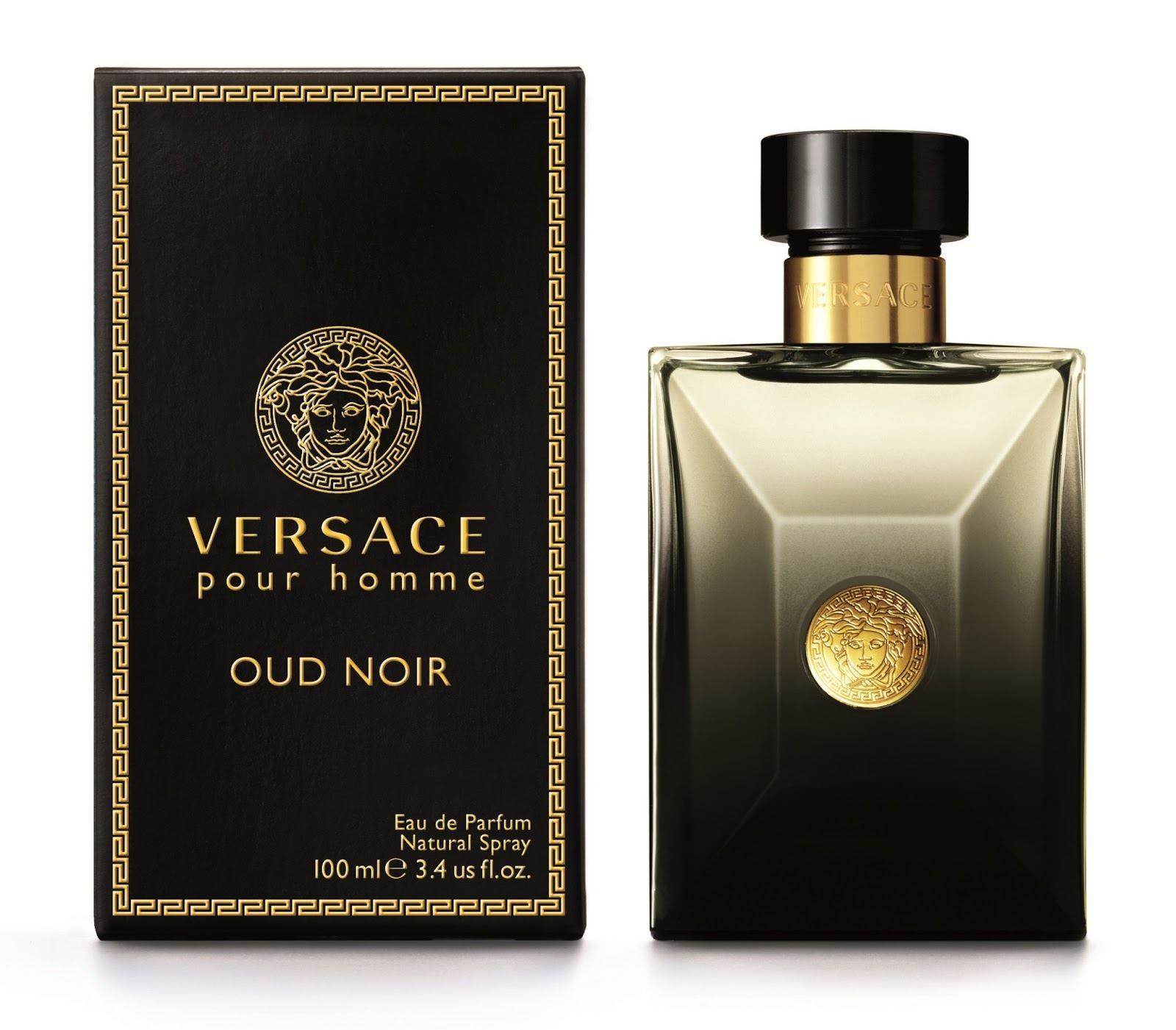 Details zu Versace Oud Noir Eau De Parfum For Men Spray 100 ml 3.4 fl.oz