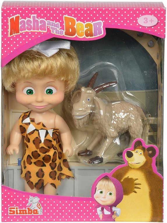 Random Model Doll Masha and The Bear Playset With Pets Friend