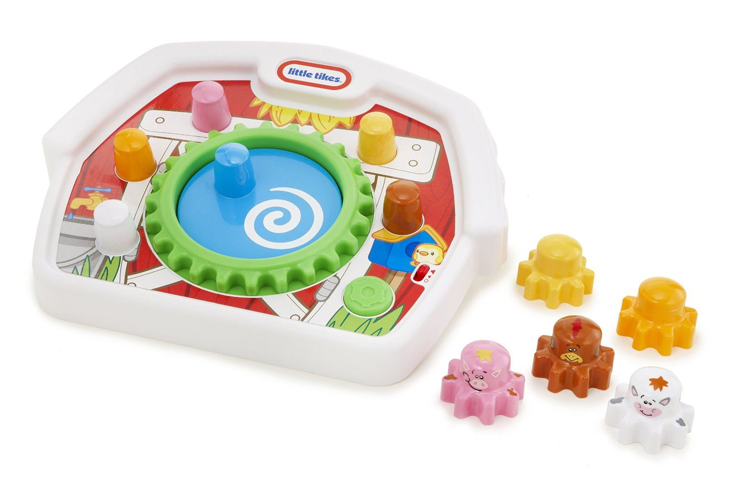 Little Tikes Giggly Gears Farm Spinners Baby Toy 6369356866574   eBay