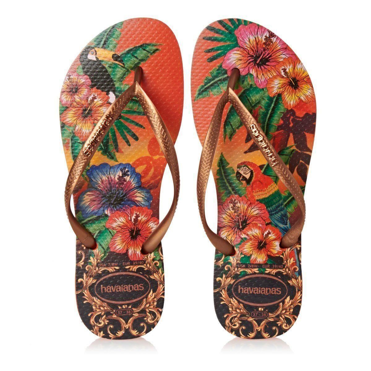 3e729c3ea28d Havaianas Women`s Flip Flops Slim Tropical Sexy Sandals Many Colors ...