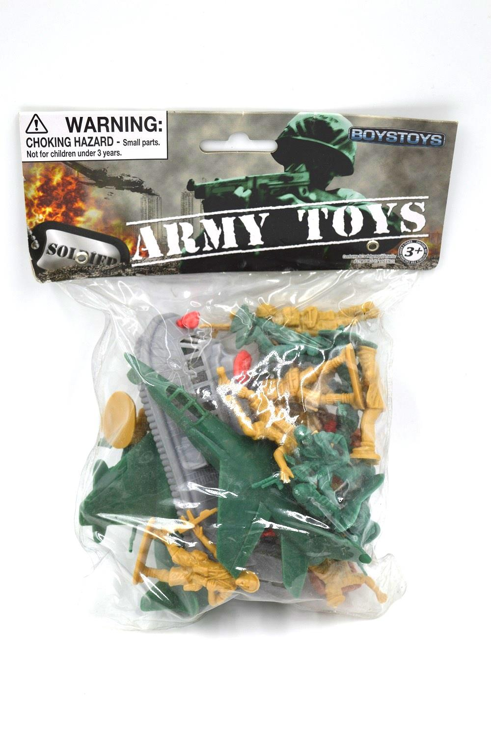 21Pcs Plastique 5cm Figurines d/'action Army Men Base Model Playset Toy