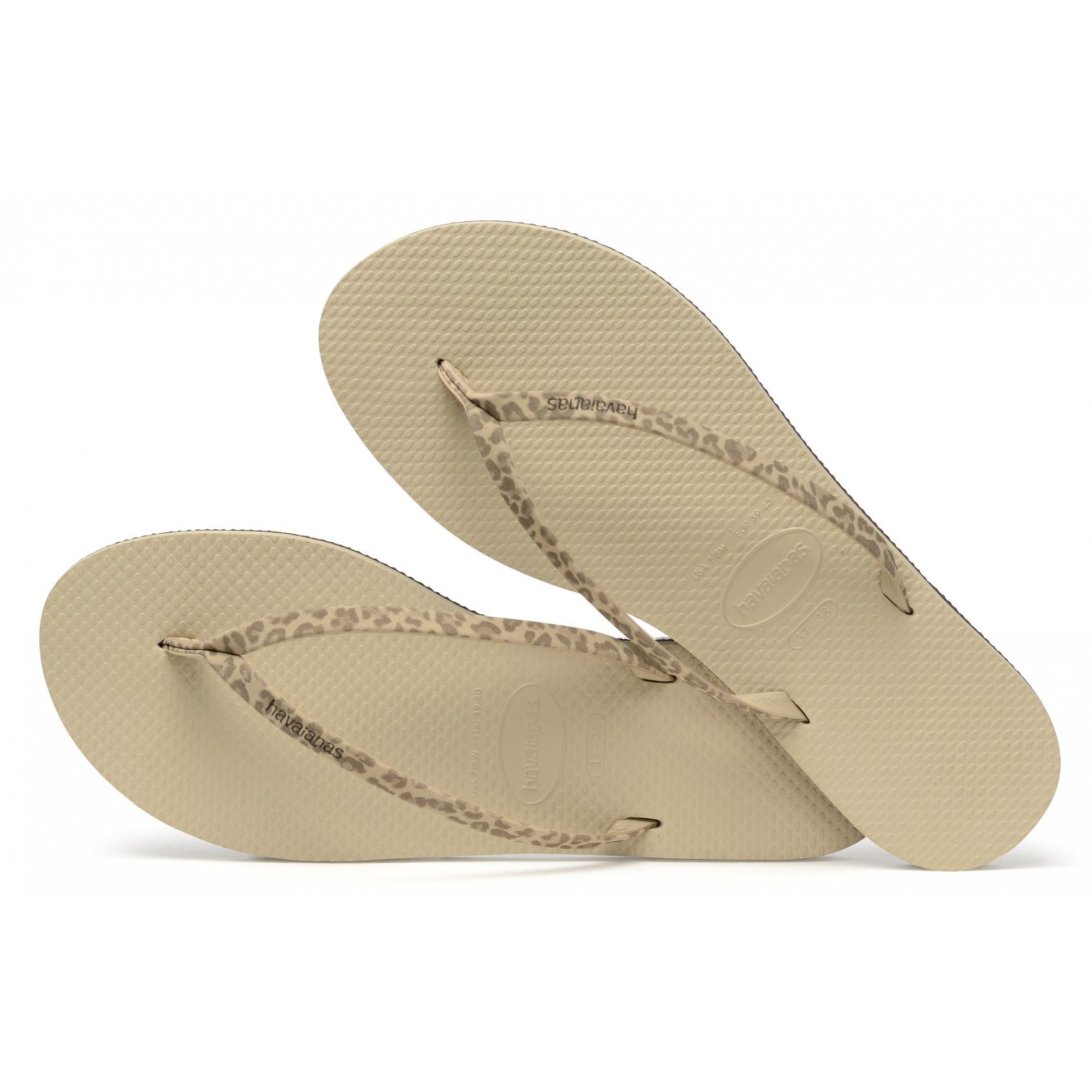 b4a519711 Havaianas Women s You Animals Flip Flops Animal Print Strap Uk5 Sand Grey.  About this product. Picture 1 of 4  Picture 2 of 4  Picture 3 of 4 ...