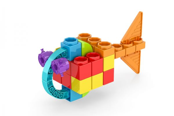Engino Qboidz 30 in 1 Set Multi Models Building Kit
