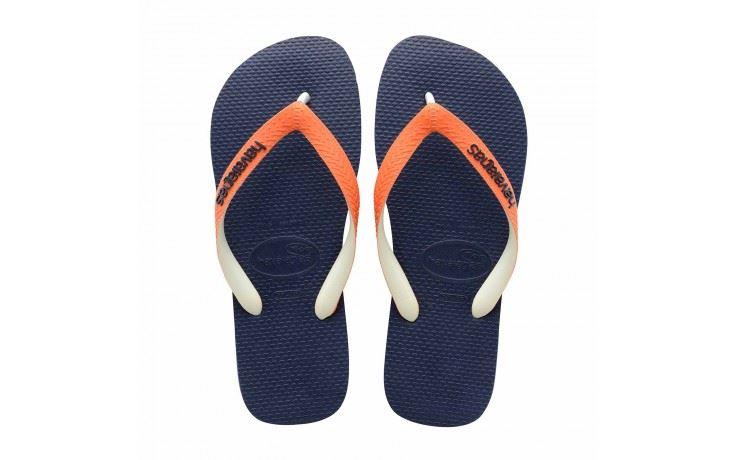 ea57ee2ff69398 Havaianas Men Summer Flip Flops Top Mix Navy Orange