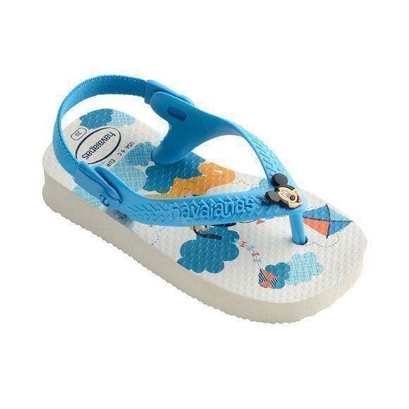 2e4c7ba25 Havaianas Disney Mickey Mouse Baby Kids White Flip Flop Sandals Shoe All  Sizes