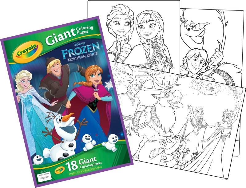 Vegas Sou Frozen 2 Giant Coloring Book