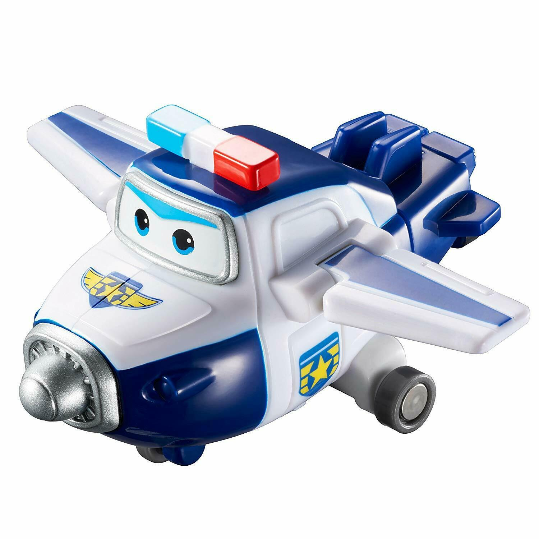 Super Wings Mini Police Jett Transform-a-Bots Toy Kids 5cm//2/'/' 3 years