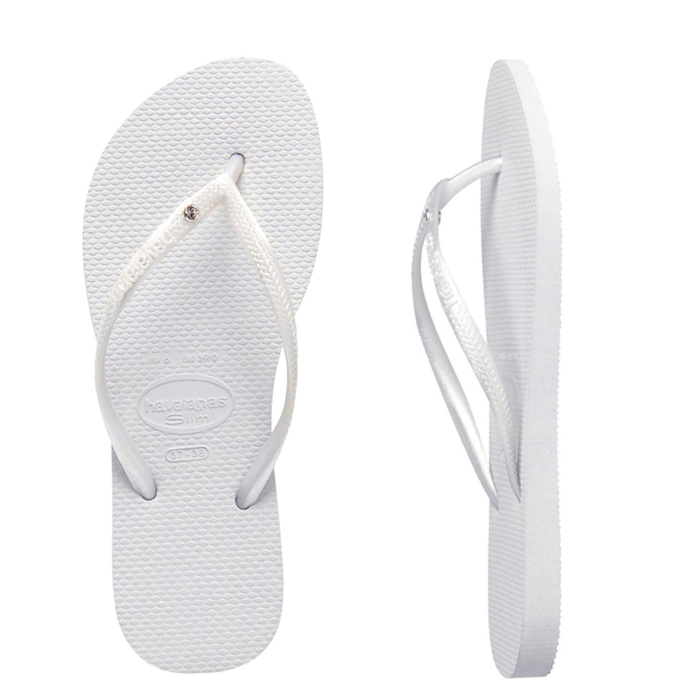 Havaianas-Slim-Crystal-Glamour-Women-039-s-Flip-Flops-Variety-of-Colors-All-sizes