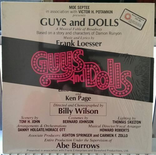 Guys And Dolls Us 1976 Various Ebay