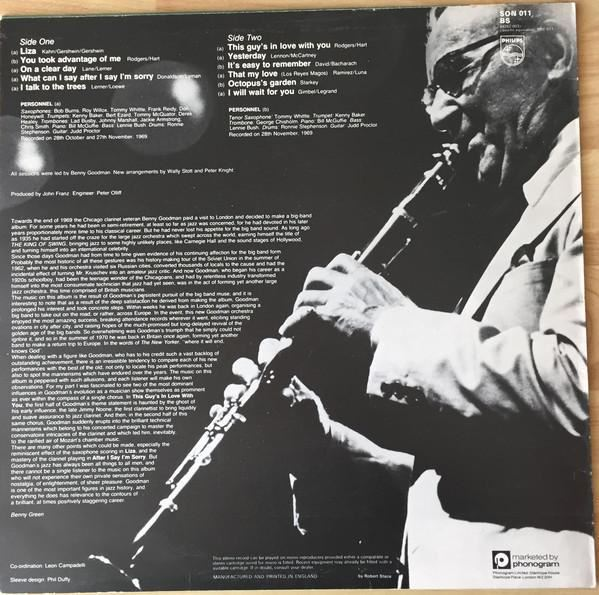 London Date Benny Goodman And His Orchestra Ebay