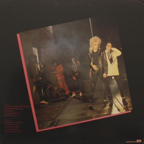 Back To Mystery City Uk 1983 Hanoi Rocks Ebay