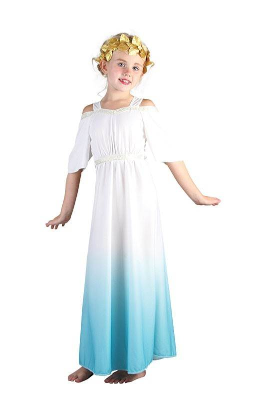 ROMAN-GODDESS-CHILDS-FANCY-DRESS-COSTUME-KIDS-BOOK-  sc 1 st  eBay & ROMAN GODDESS CHILDS FANCY DRESS COSTUME KIDS BOOK WEEK ATHENA | eBay
