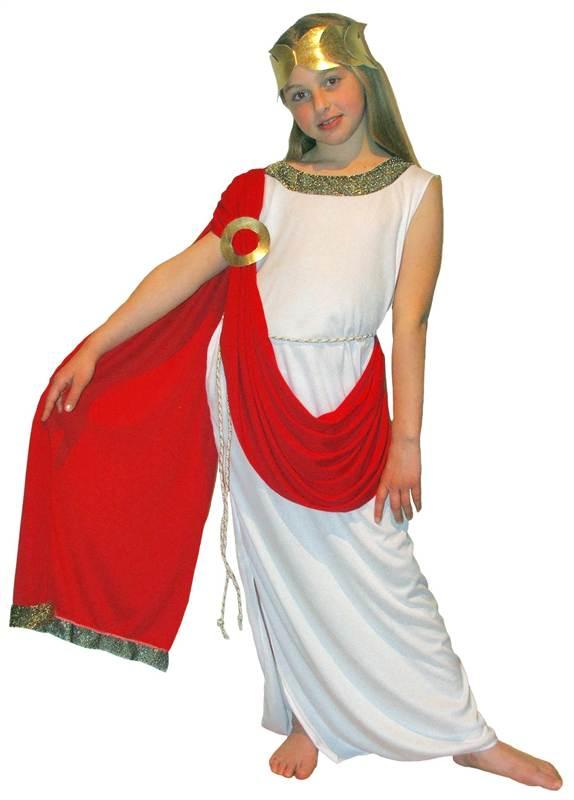 GREEK-GODDESS-CHILDS-FANCY-DRESS-COSTUME-KIDS-BOOK-  sc 1 st  eBay & GREEK GODDESS - CHILDS FANCY DRESS COSTUME KIDS BOOK WEEK ATHENA ...