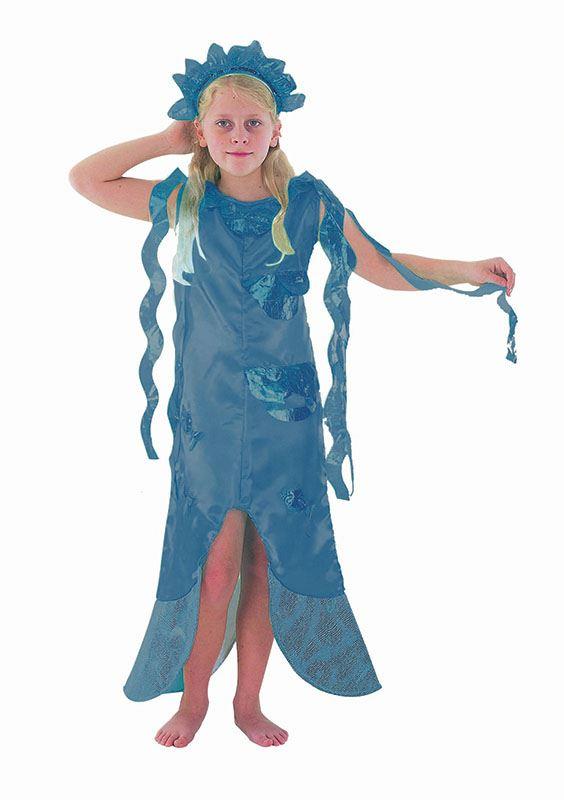 MERMAID-CHILDS-FANCY-DRESS-COSTUME-KIDS-BOOK-WEEK-  sc 1 st  eBay & MERMAID CHILDS FANCY DRESS COSTUME KIDS BOOK WEEK SEA PRINCESS   eBay