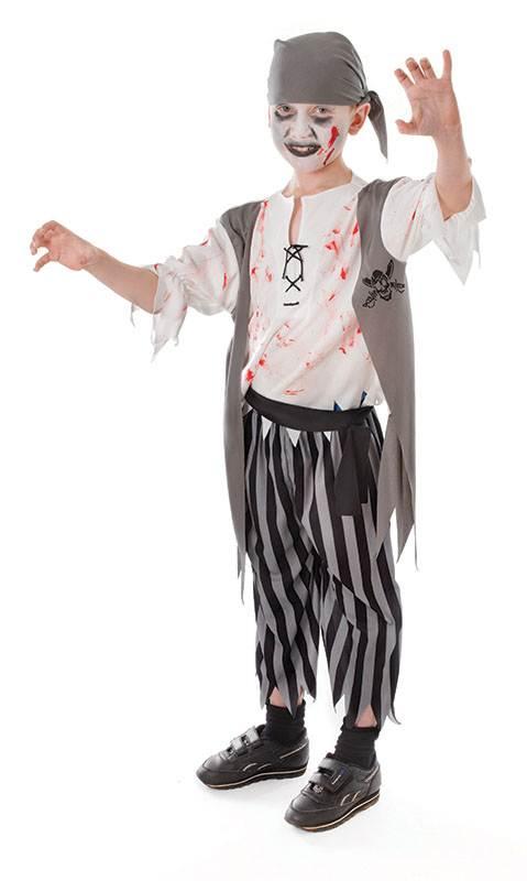 KIDS BOOK WEEK SKELETON SMALL 110-122 CM CHILDS FANCY DRESS COSTUME