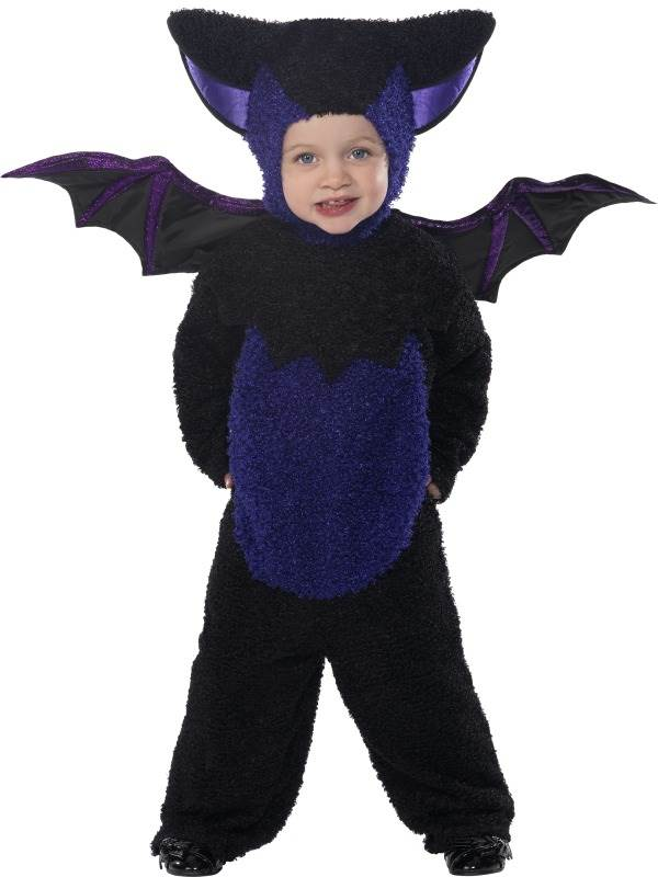 Iddy Biddy Bat Baby and Toddler Halloween Fancy Dress Costume