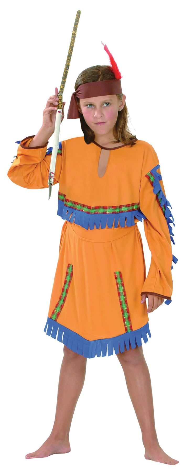 Indian-Girl-Squaw-Chief-Girls-Pocahontas-Fancy-Dress-  sc 1 st  eBay & Indian Girl Squaw Chief Girls Pocahontas Fancy Dress Costume ...