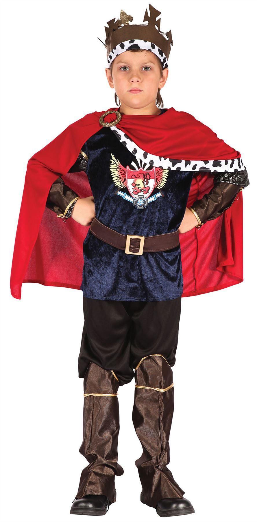 Garçons beau prince // CHEVALIER Fantasy Roi Costume Robe Fantaisie pour Enfants