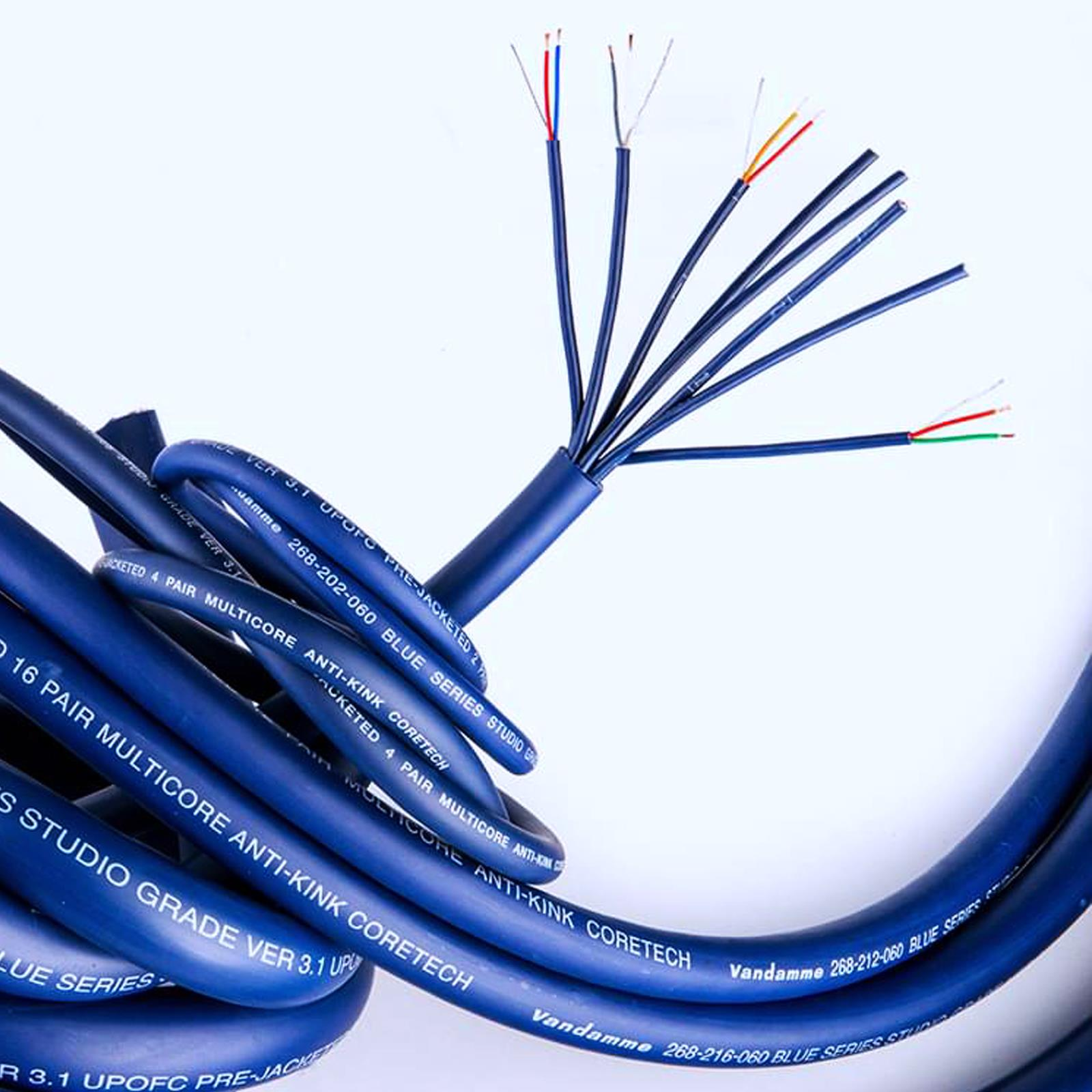 Neutrik Balanced TRS Jack Loom 2 4 8 12 16 20 24 28 32 Way Multicore Stage Snake