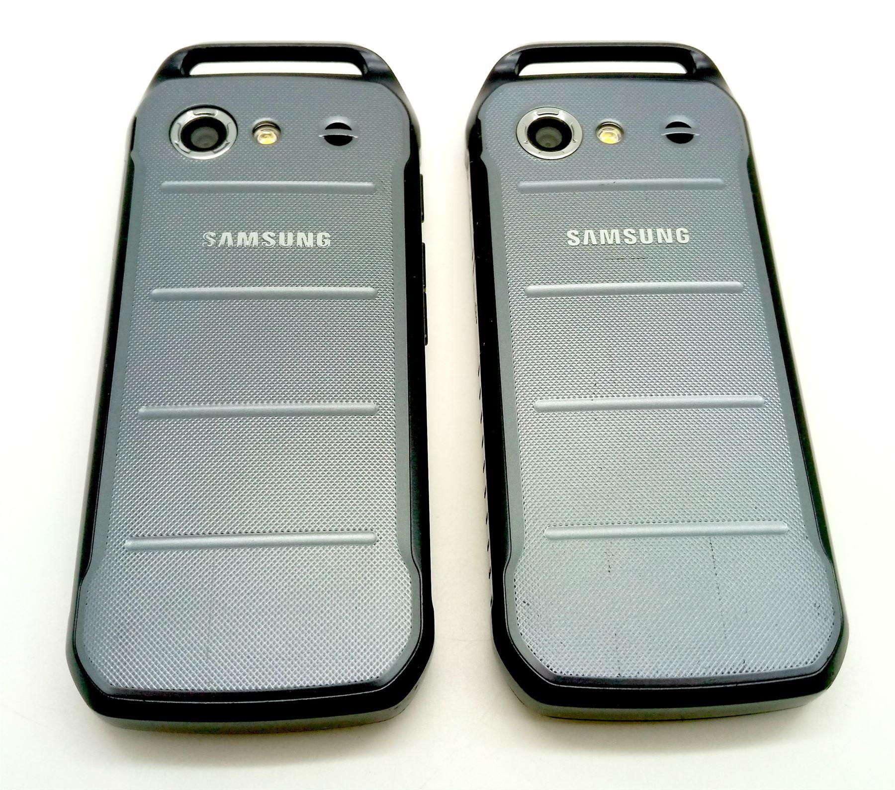 samsung galaxy xcover b550 550 grade b dark silver. Black Bedroom Furniture Sets. Home Design Ideas