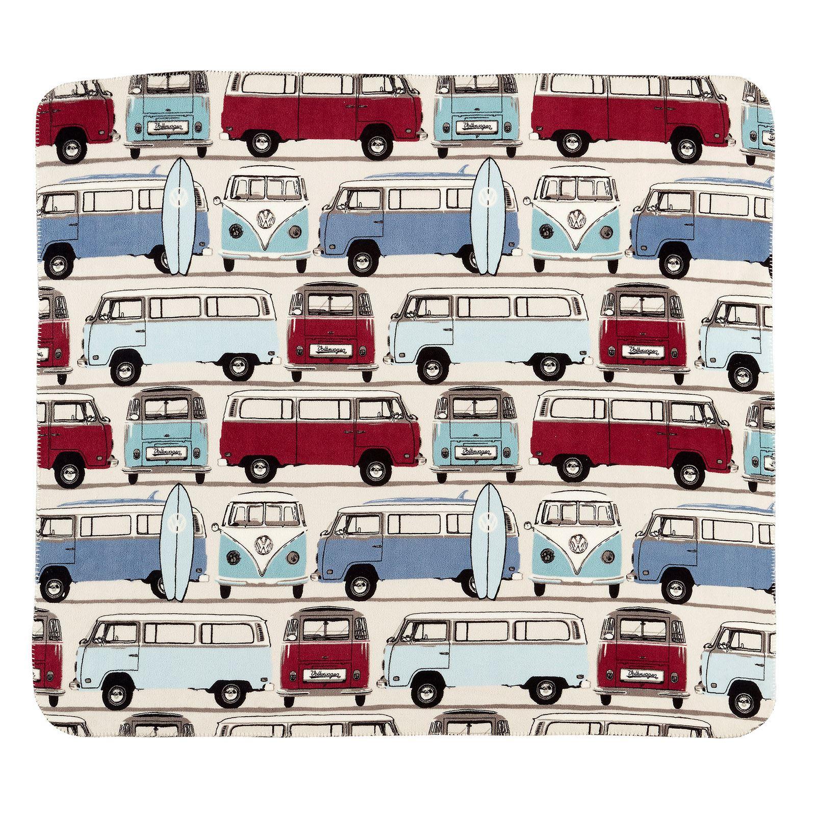 VW Classic Camper Van Volkswagen Duvet Quilt Cover Bedding