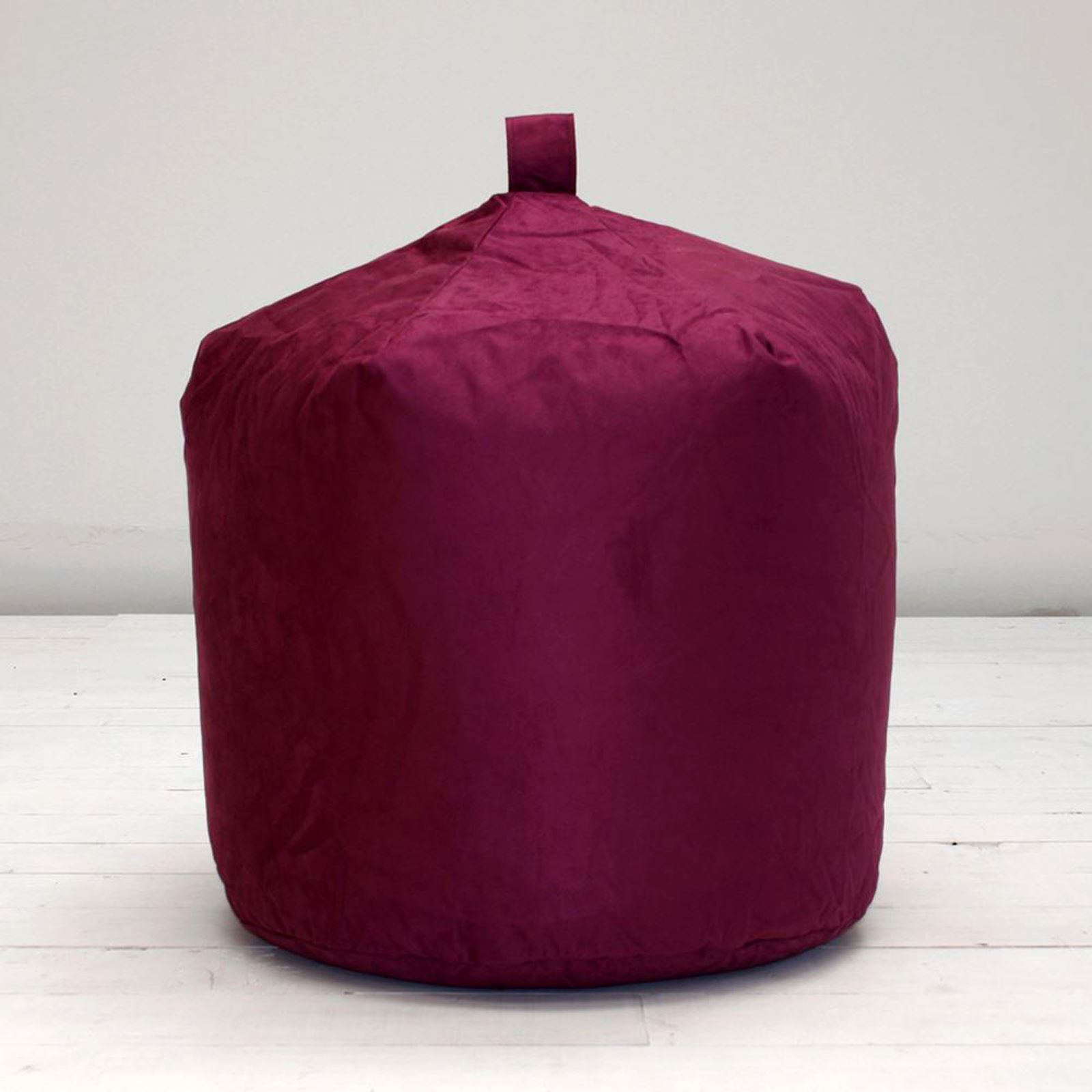 Faux-Suede-Bean-Bag-Blue-Teal-Purple-Tan-Terracotta-Brown-Orange-Seat-Chair