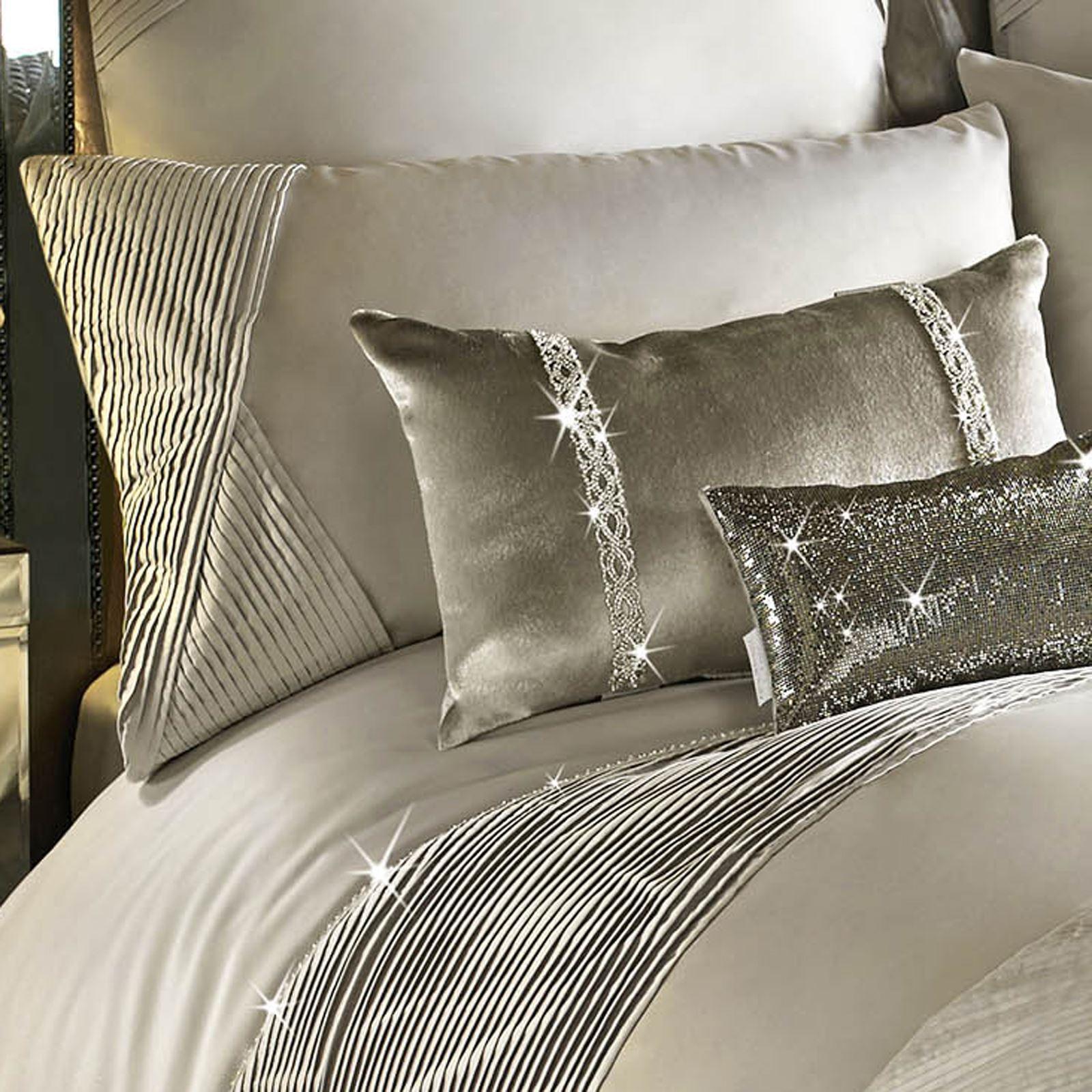 Kylie Minogue Omara Champagne Duvet Quilt Cover Bedding