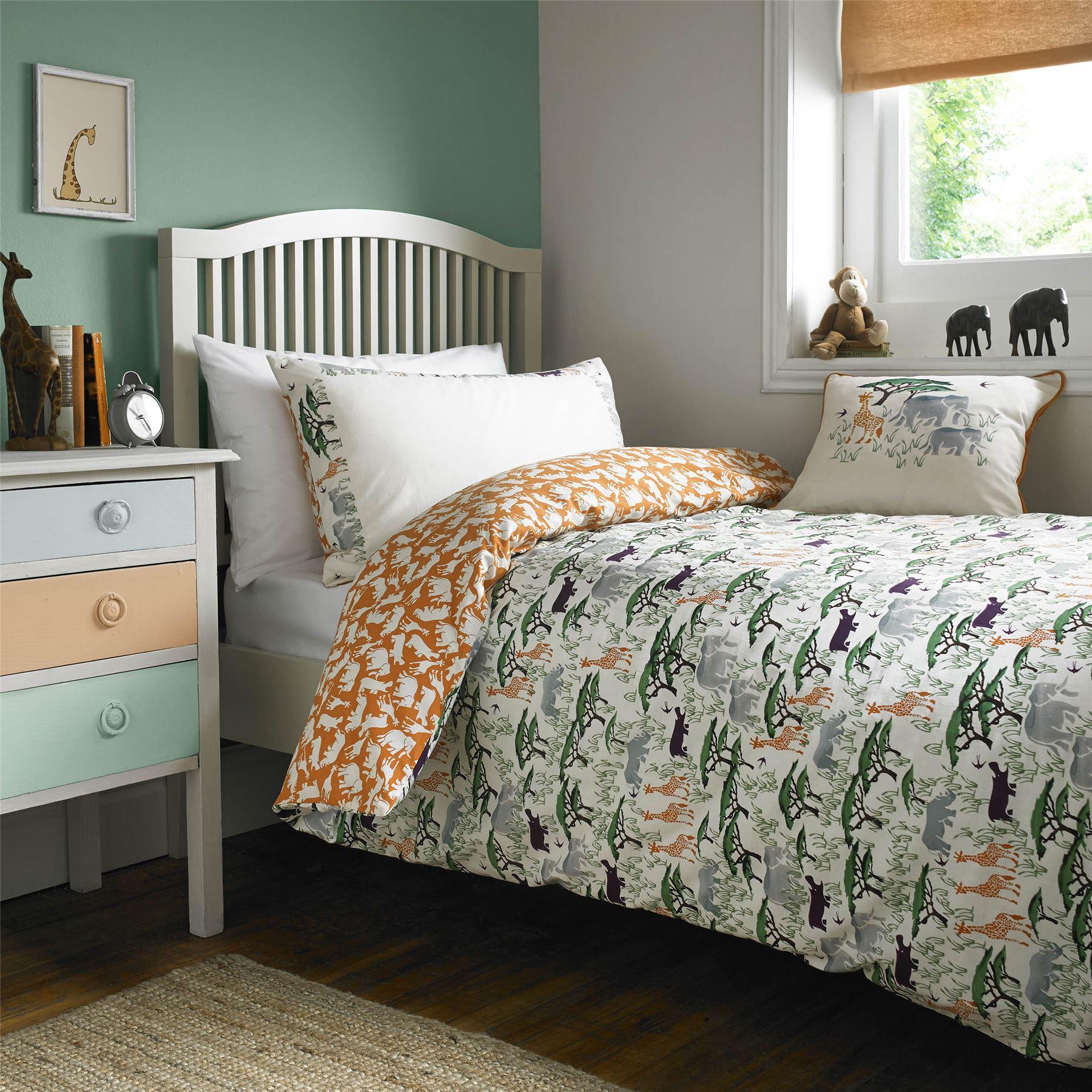 emma bridgewater childrens dinosaur safari duvet quilt. Black Bedroom Furniture Sets. Home Design Ideas