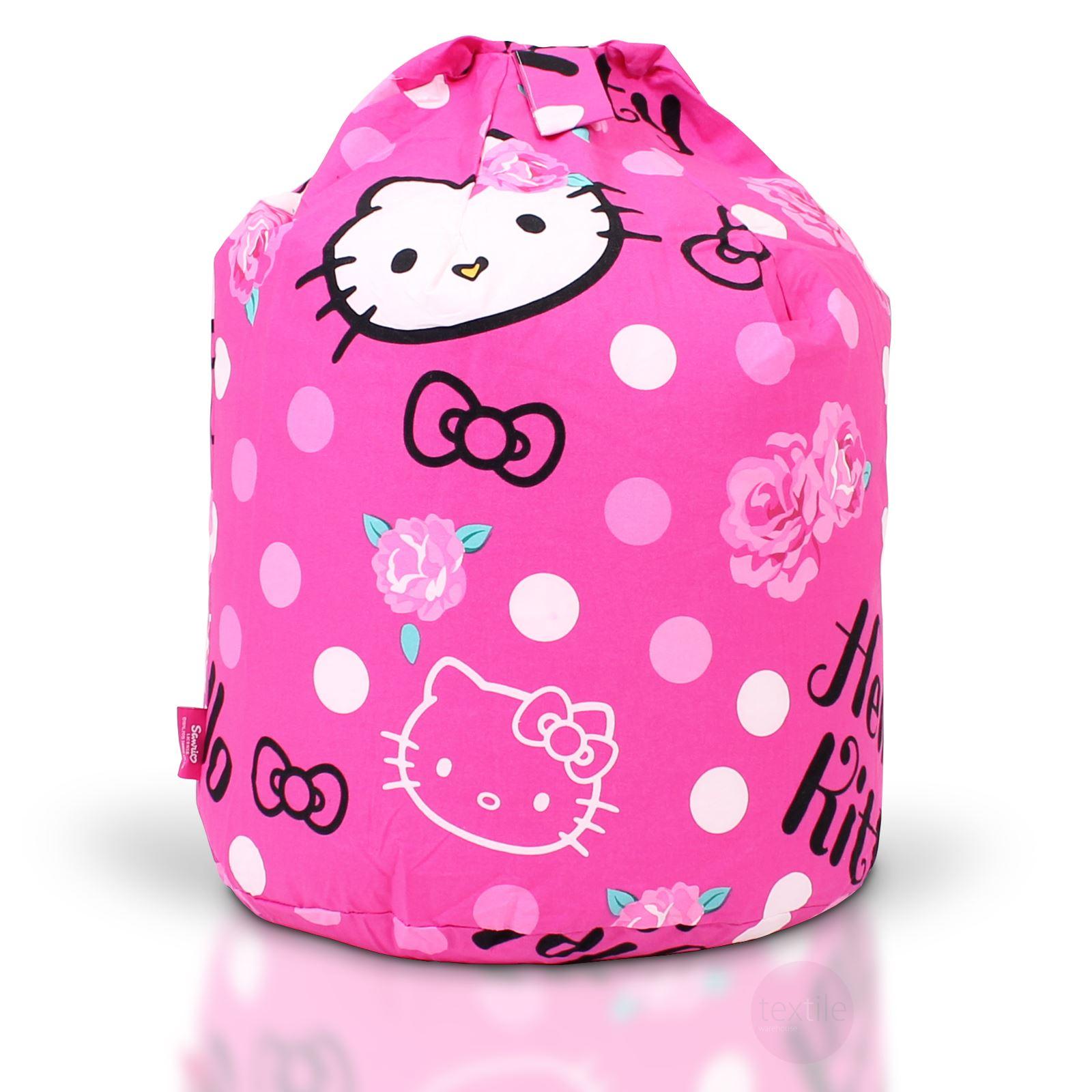 Childrens Bean Bag Kids Girls Boys Character Chair