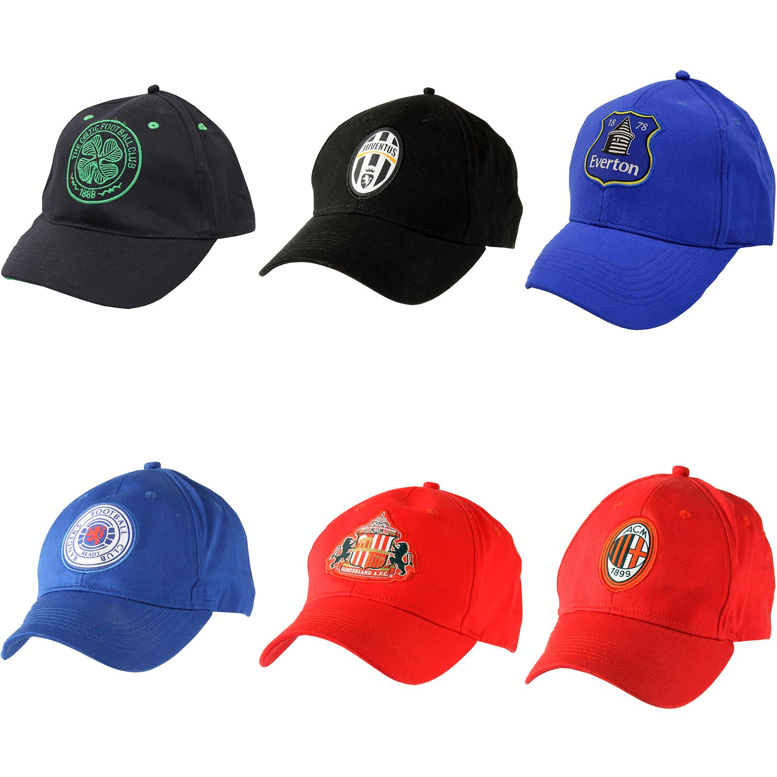 Details about Football FC Caps Baseball Hats Sport Adjustable Kids Adults  Official Gifts a0dbd8010
