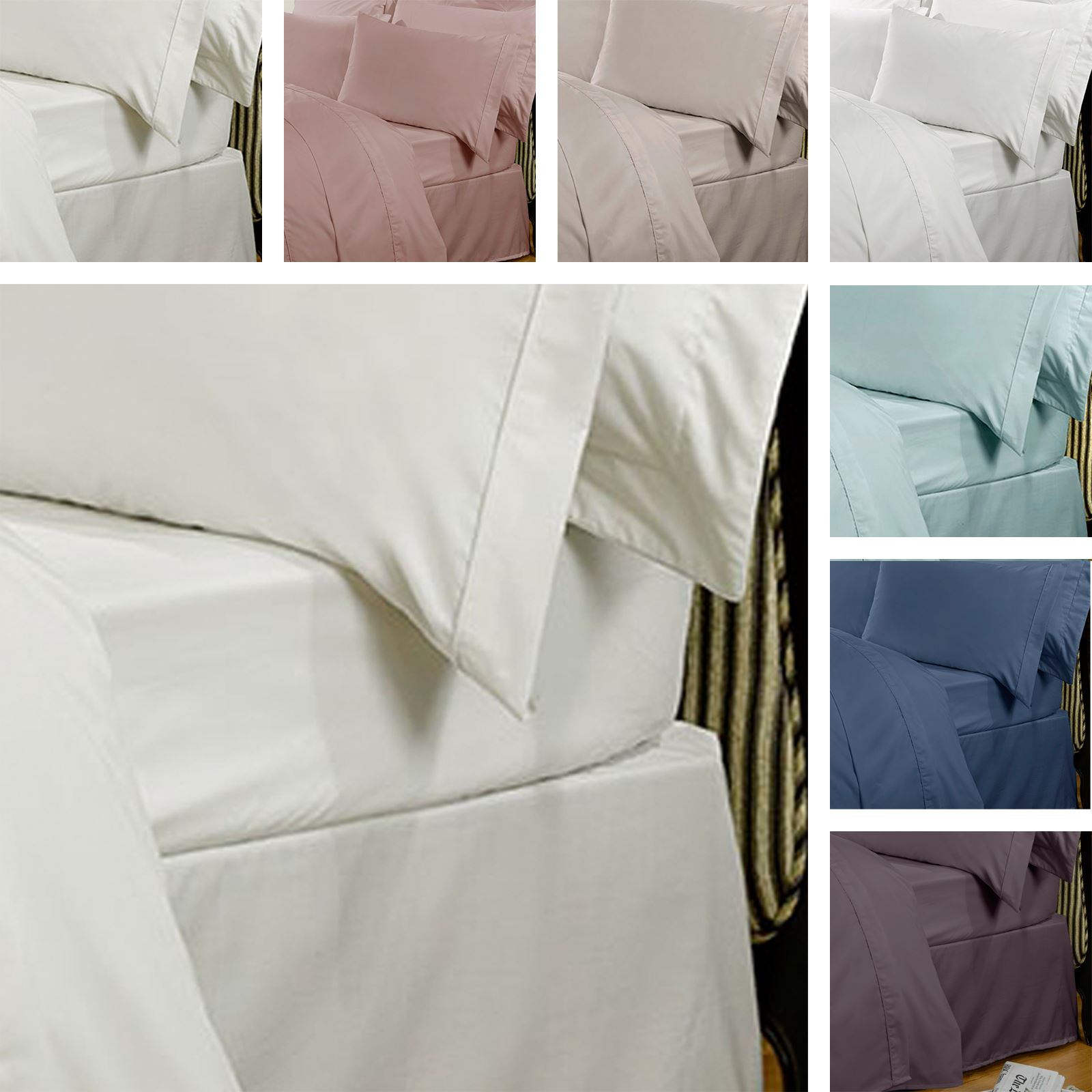 Luxurious Highams Bed Linen In Various Colour Options. Egyptian Cotton Is  Recognised As One Of The Finest Quality Bed Linens Around.