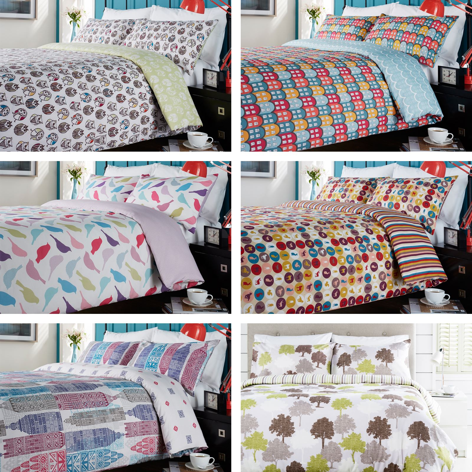 Hummingbird Bed Linen Part - 16: A Beautiful Print With A Variety Of Colour And Pattern. Cotton Is A Popular  Choice For Your Bed Linen As It Feels Soft And Is Long-lasting.