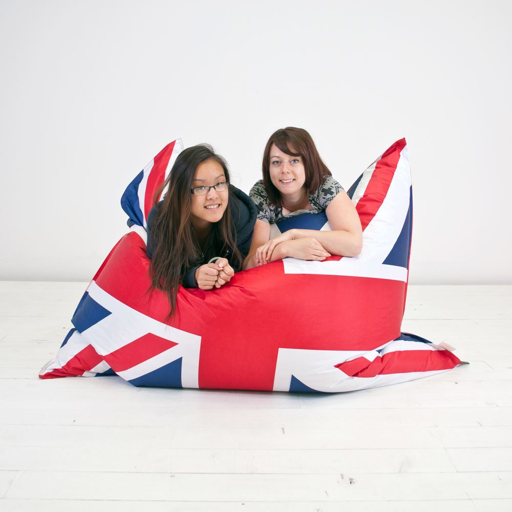 Giant-Outdoor-Indoor-Filled-Beanbag-Seat-Chair-Floor-Cushion-Chill-EXTRA-LARGE