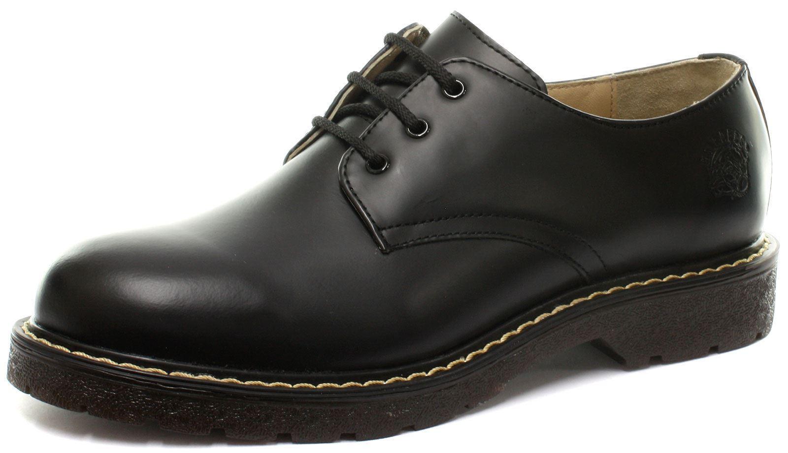 les chaussures de cuir noir à nouveau percival percival percival unisexes contre 3 oeillets capuchon en acier | Les Produits Sont Vendus Sans Prescription Mode Et Forfaits Attractifs  ef5a73