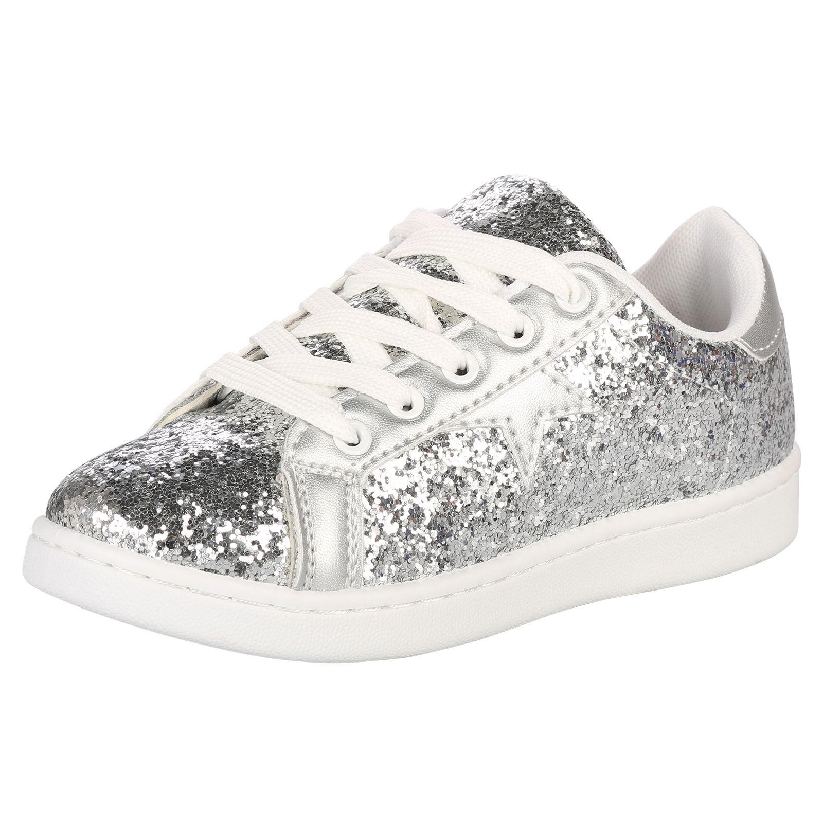 Sneakers casual con stringhe per bambina FYCkYFG