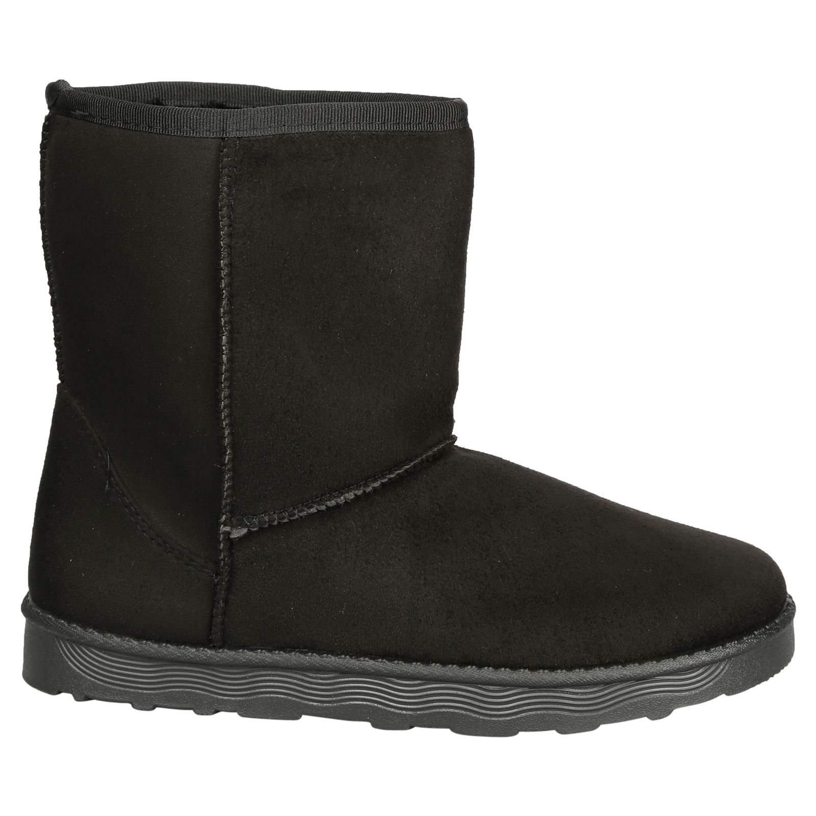 Paisleigh-Womens-Platfrom-Flat-Fur-Lined-Pull-On-Snug-Snow-Boots-Casual-Ladies thumbnail 3