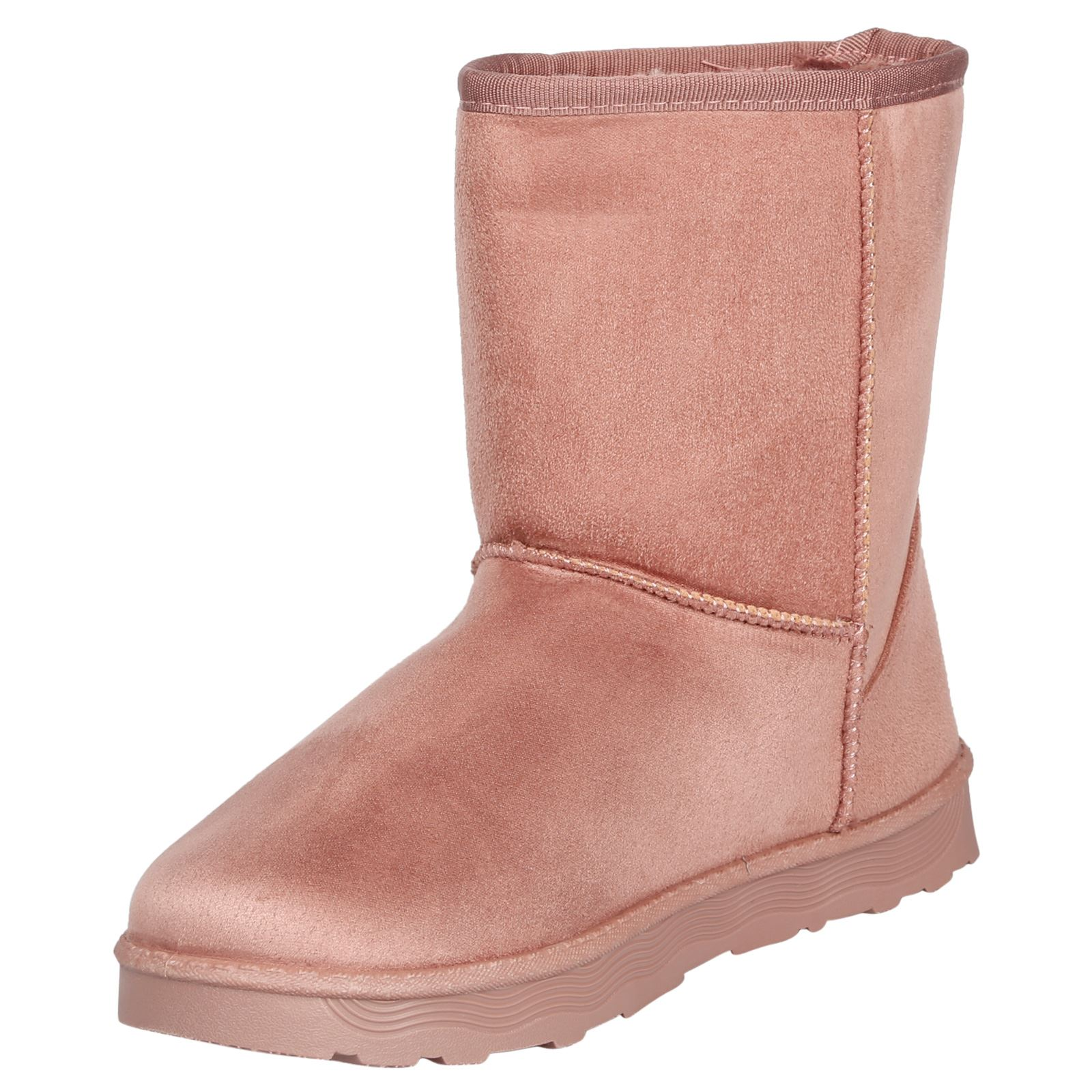Paisleigh-Womens-Platfrom-Flat-Fur-Lined-Pull-On-Snug-Snow-Boots-Casual-Ladies thumbnail 19