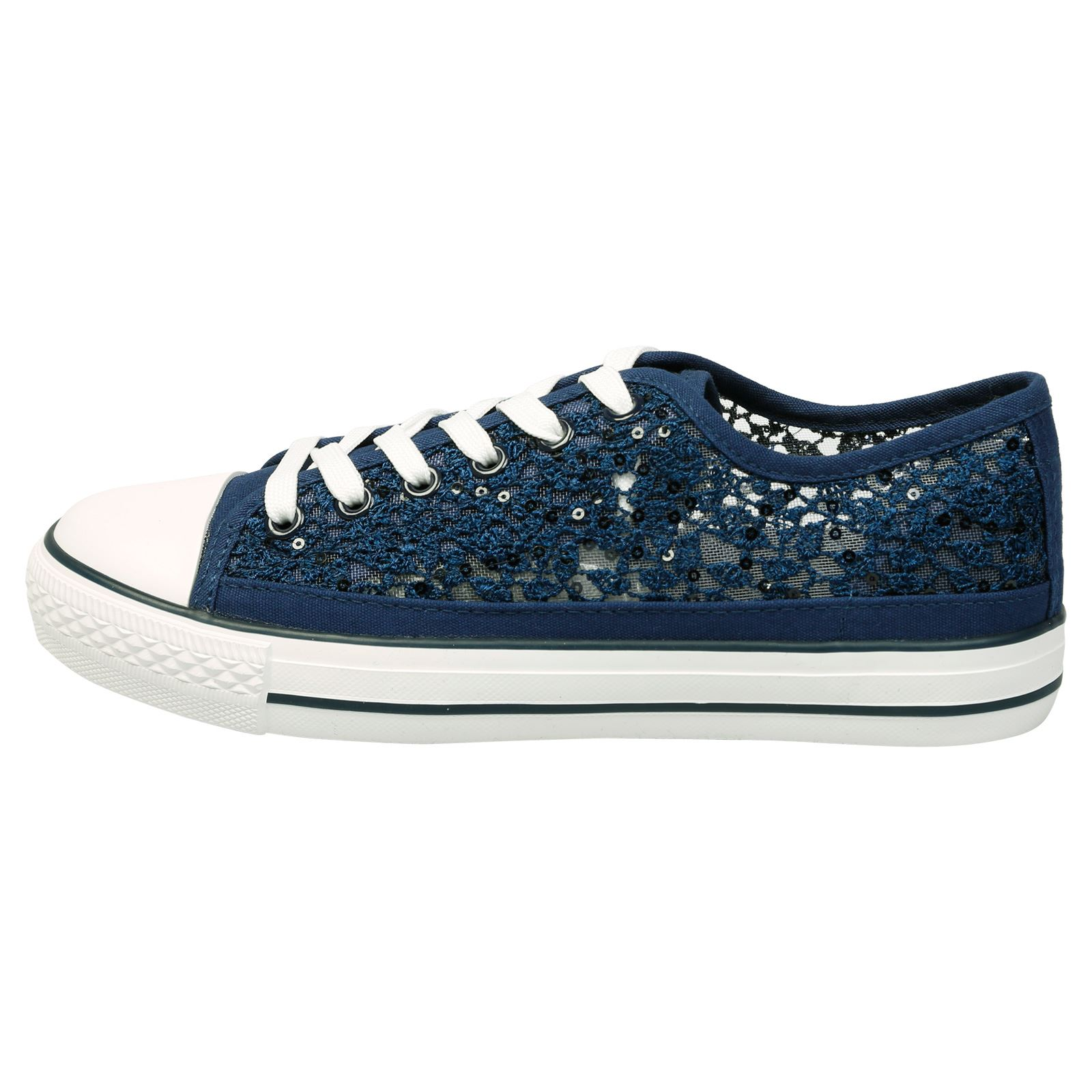 WOMENS-SHOES-LADIES-PUMPS-SNEAKERS-TRAINERS-LACE-UP-
