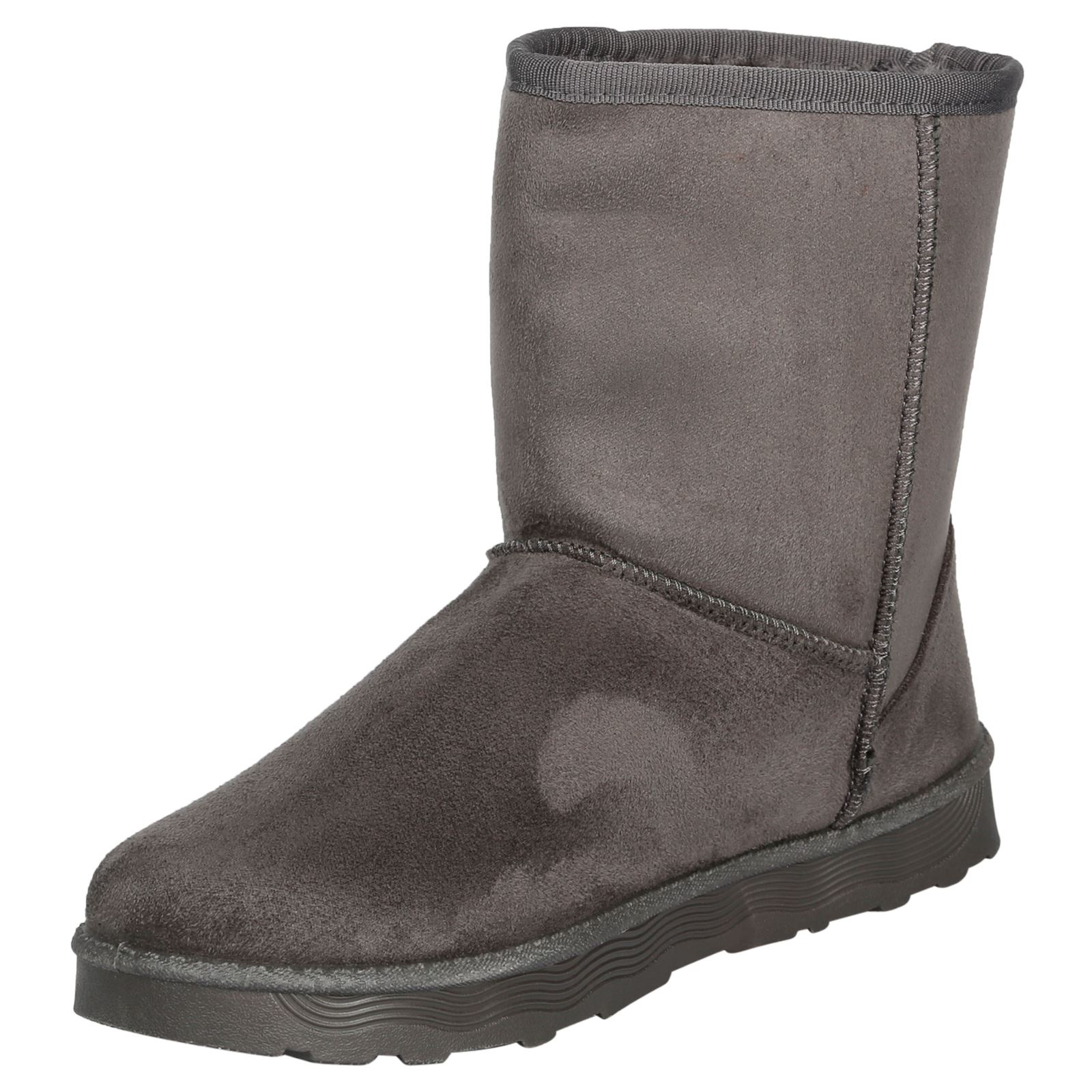 Paisleigh-Womens-Platfrom-Flat-Fur-Lined-Pull-On-Snug-Snow-Boots-Casual-Ladies thumbnail 11
