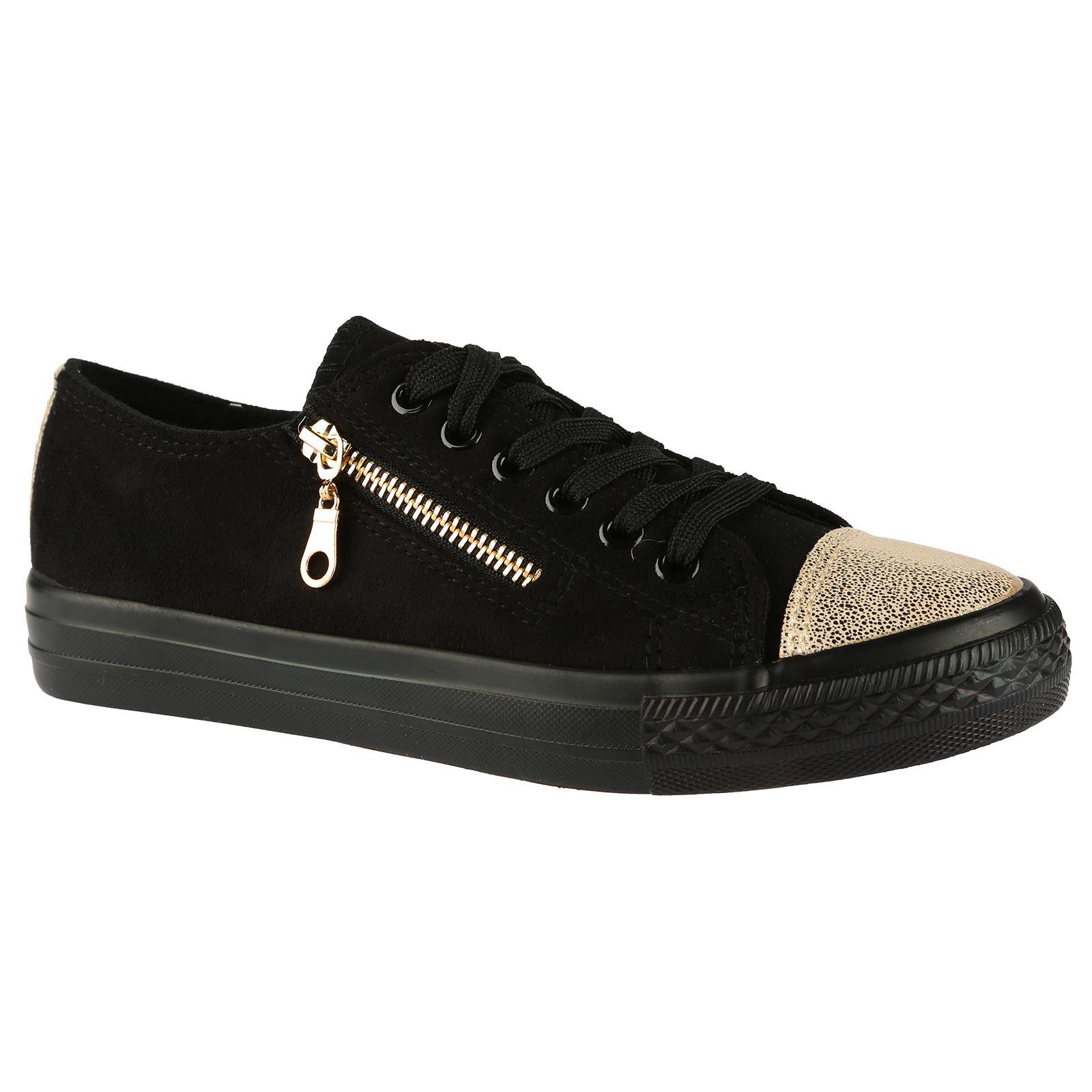 Floral Diamonte Lace Up Shoes