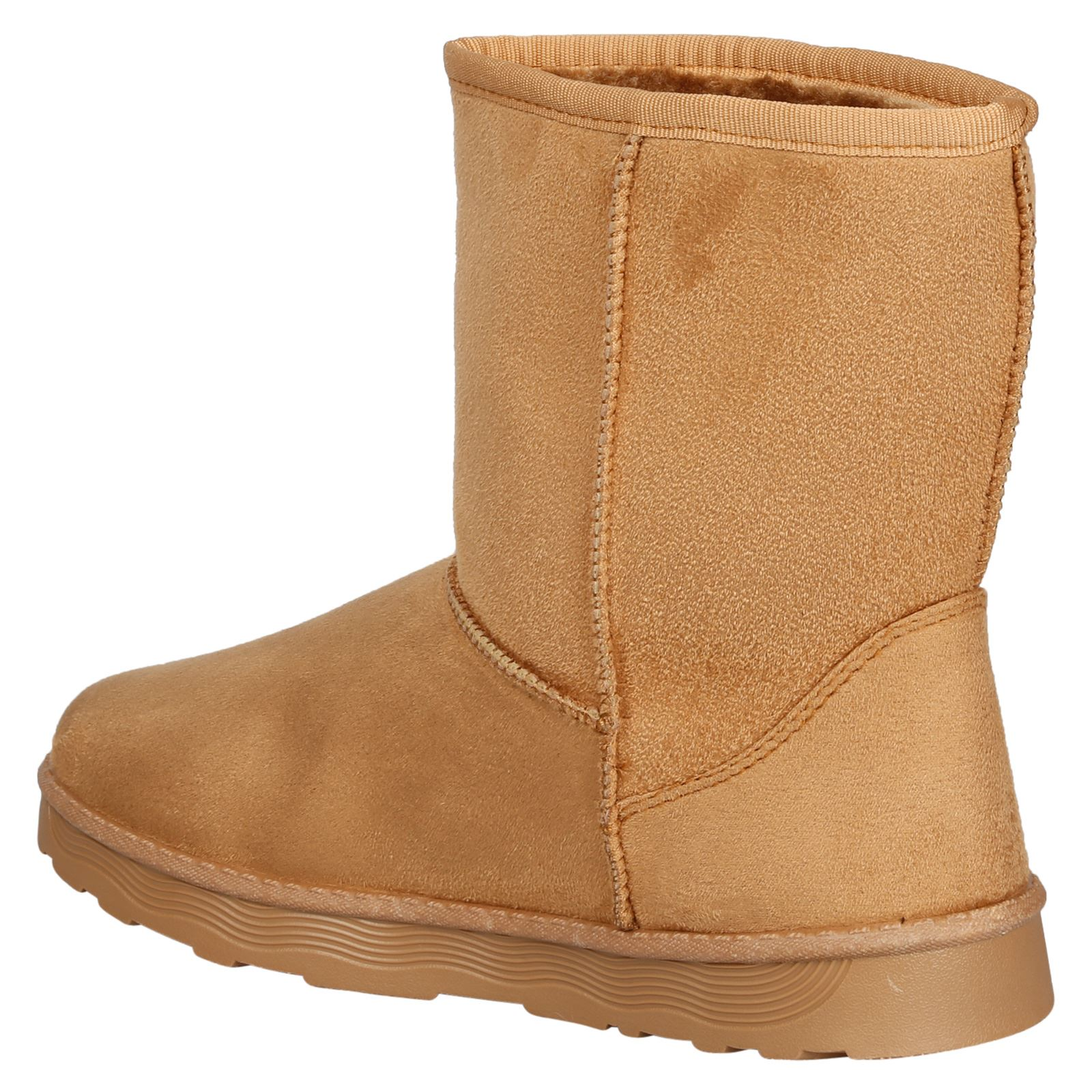 Paisleigh-Womens-Platfrom-Flat-Fur-Lined-Pull-On-Snug-Snow-Boots-Casual-Ladies thumbnail 9