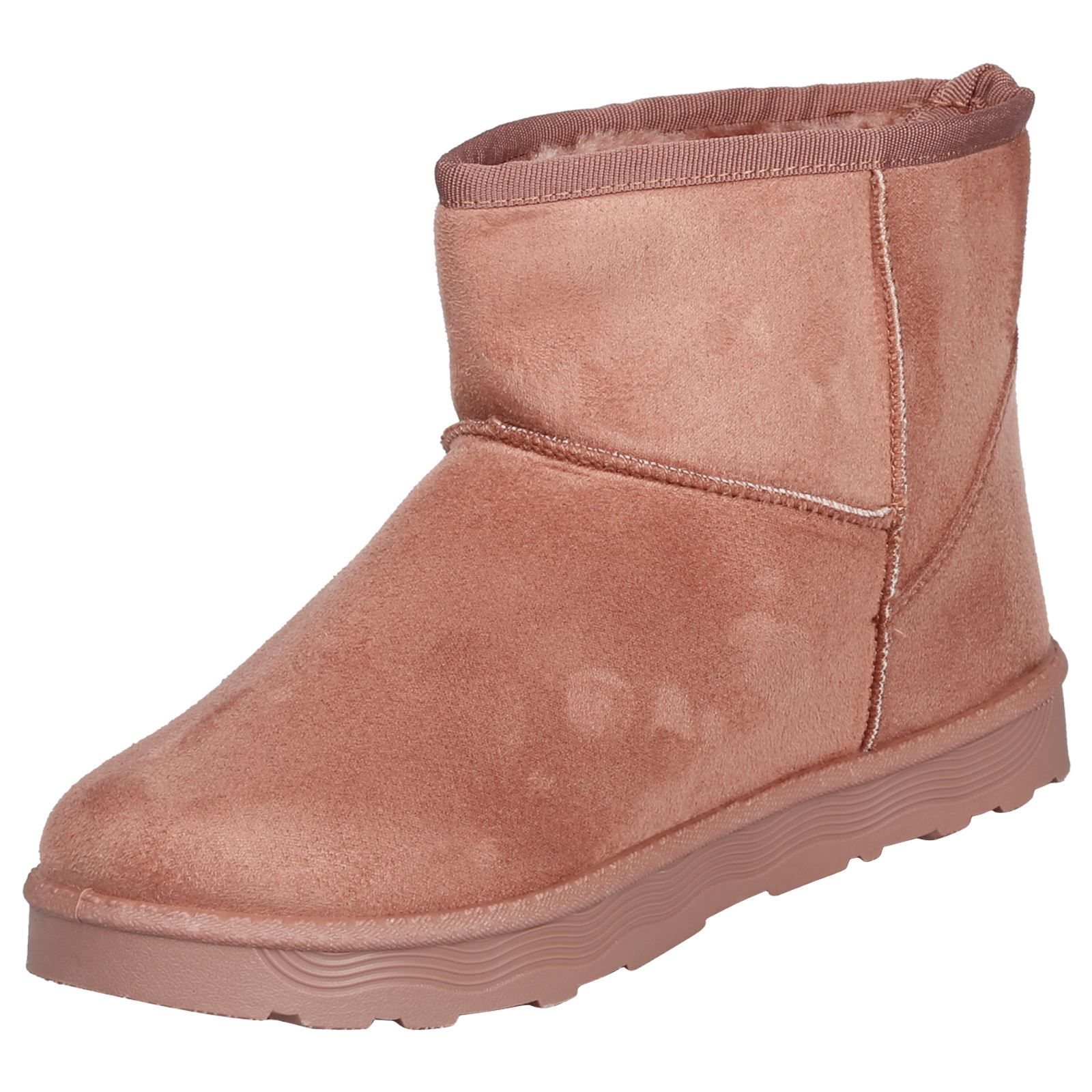 Naomi-Womens-Platfrom-Flat-Fur-Lined-Pull-On-Snug-Snow-Boots-Casual-Ladies-Size thumbnail 20