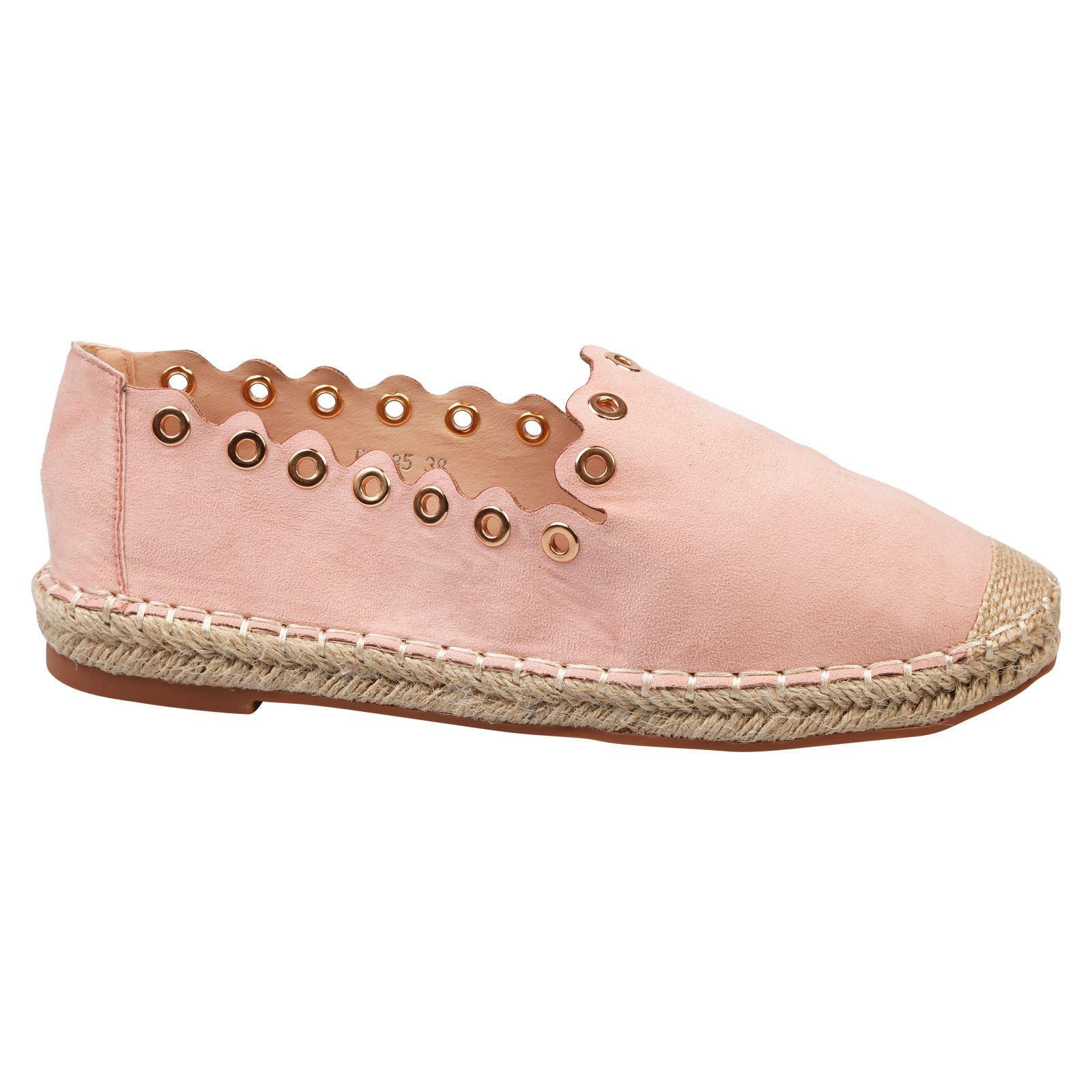 6235972e9f7 Ursula Womens Flats Low HEELS Slip on Espadrilles Ladies Shoes PUMPS ...