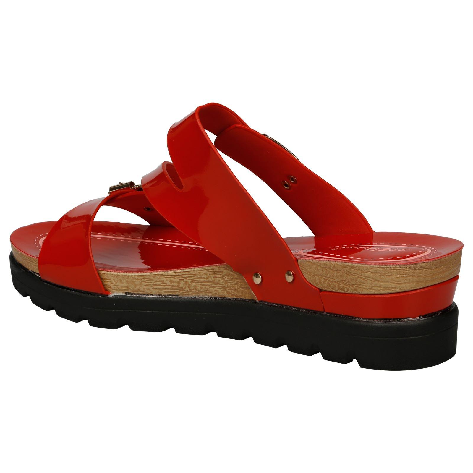 3e2ee2ec40b0 Enid Womens Low Wedges Heels Platforms Peep Toe Sandals Ladies Beach ...