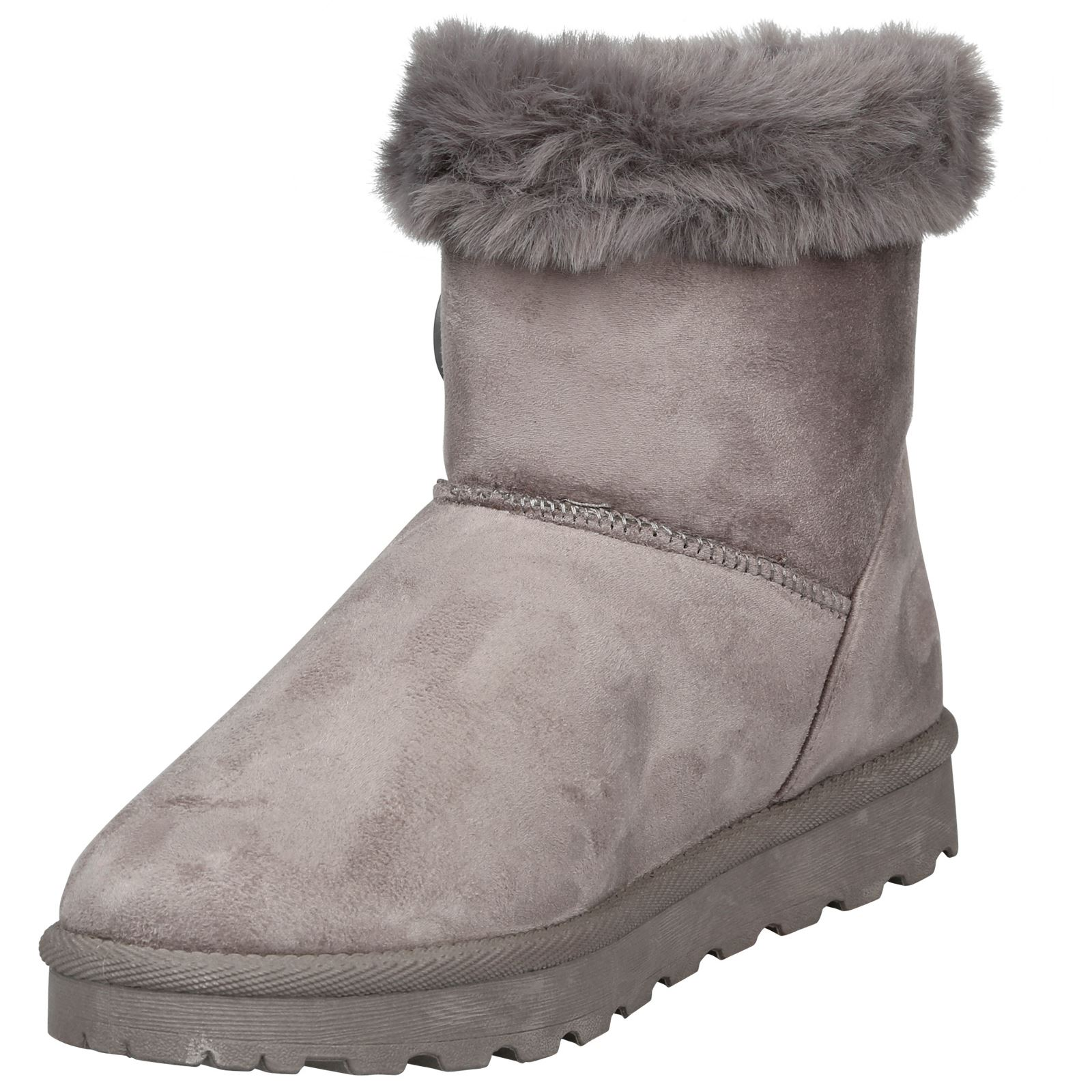 Eliana-Womens-Flatform-Fur-Lined-Flat-Snow-Ankle-Boots-Casual-Ladies-Size-Style thumbnail 12