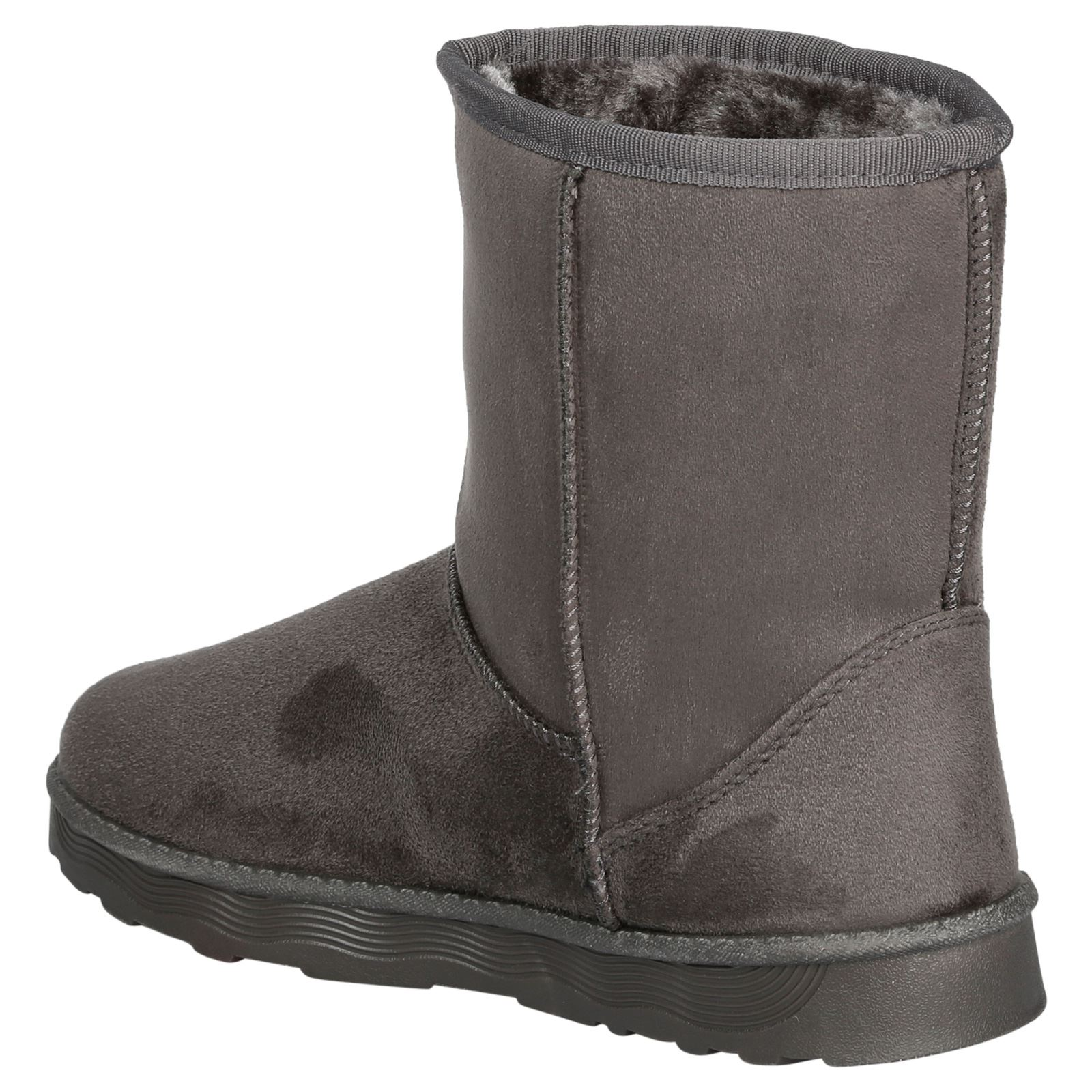 Paisleigh-Womens-Platfrom-Flat-Fur-Lined-Pull-On-Snug-Snow-Boots-Casual-Ladies thumbnail 12