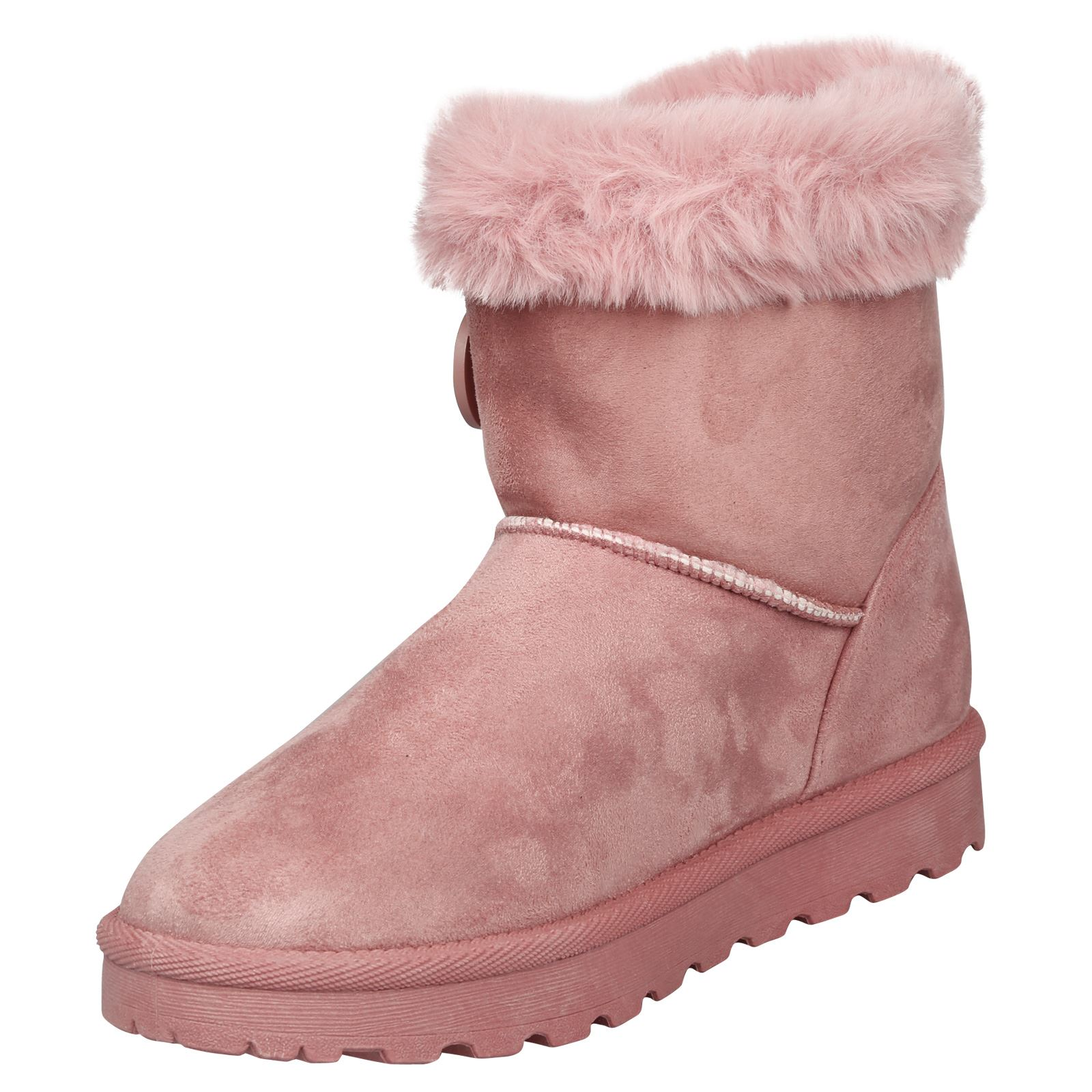 Eliana-Womens-Flatform-Fur-Lined-Flat-Snow-Ankle-Boots-Casual-Ladies-Size-Style thumbnail 16