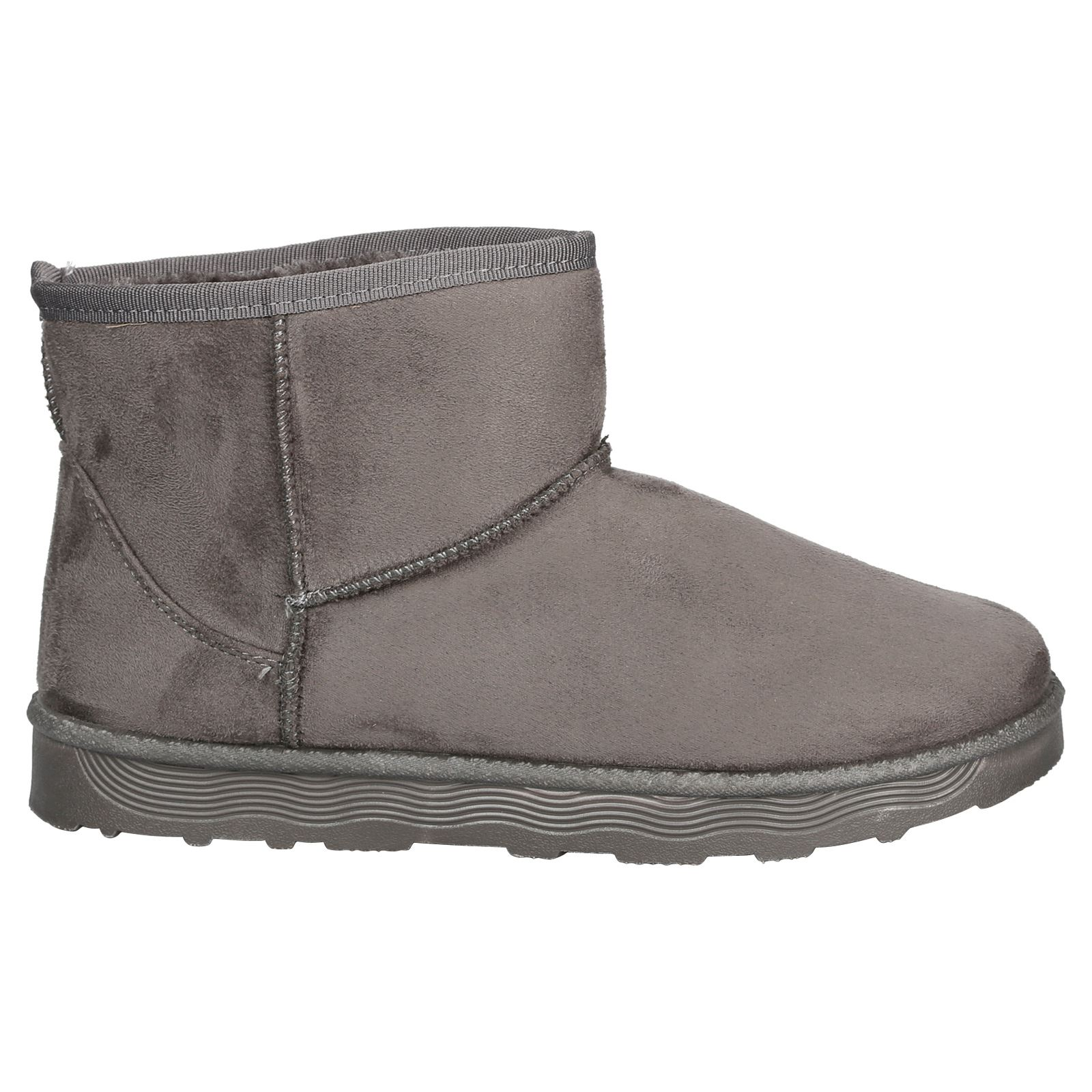 Naomi-Womens-Platfrom-Flat-Fur-Lined-Pull-On-Snug-Snow-Boots-Casual-Ladies-Size thumbnail 11