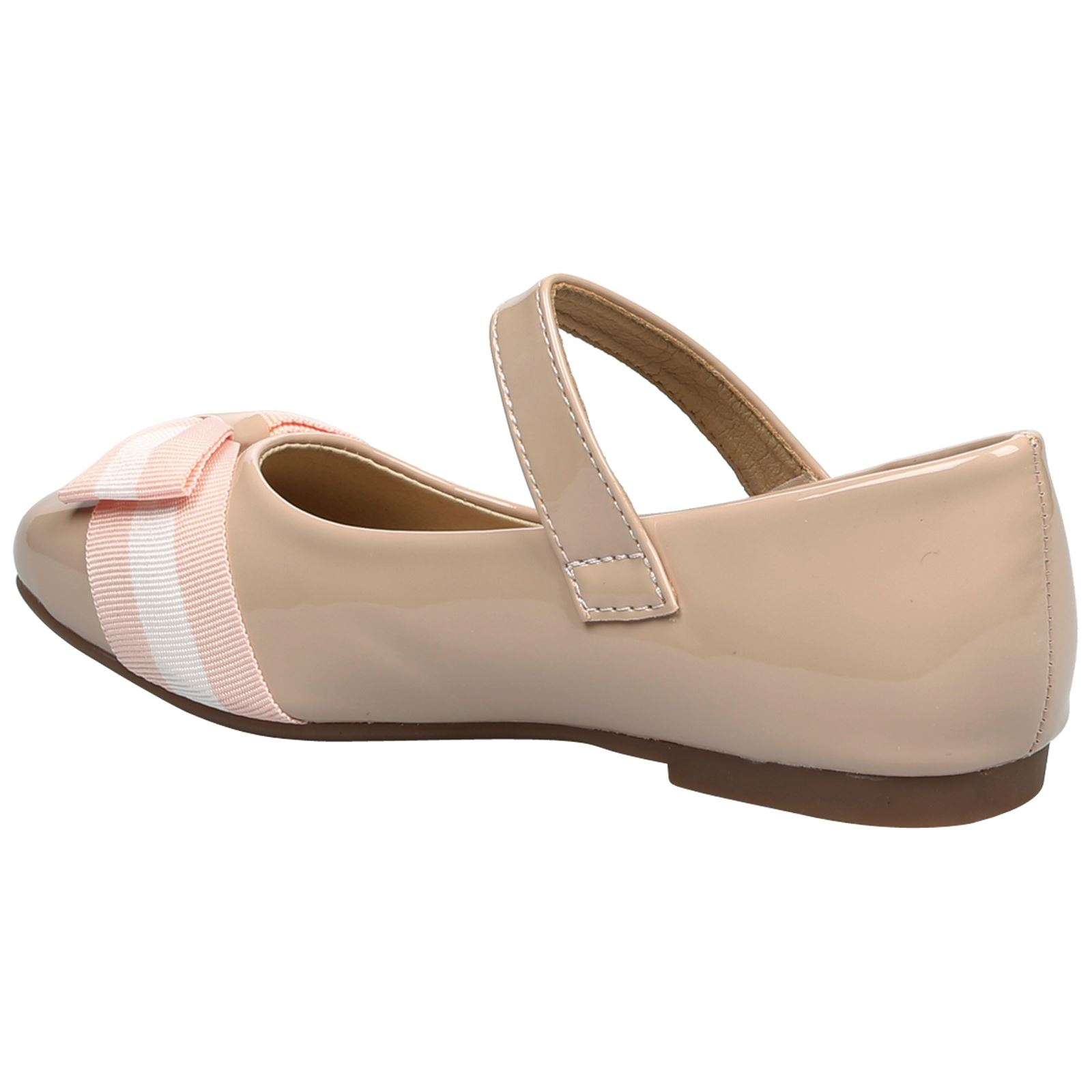 Posie Girls Kids Flats Low Heels Mary Jane Pumps Childrens Shoes Bow Detail Size